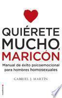 Libro de Quiérete Mucho, Maricón