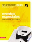 Libro de Biblioteca De Ideas: Eventos Especiales