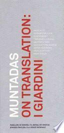 Libro de On Translation