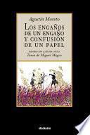 Libro de Los Engaños De Un Engaño Y Confusión De Un Papel