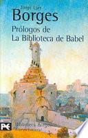 Libro de Prólogos De La Biblioteca De Babel