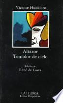 Libro de Altazor