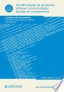 Libro de Diseño De Elementos Software Con Tecnologías Basadas En Componentes. Ifct0609
