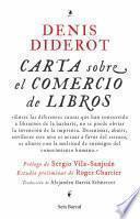 Libro de Carta Sobre El Comercio De Libros