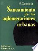 Libro de Saneamiento De Las Aglomeraciones Urbanas