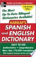 Libro de Harrap S Spanish And English Dictionary