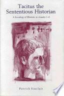 Libro de Tacitus The Sententious Historian