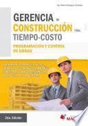 Libro de Gerencia De Construcción Y Del Tiempo   Costo