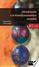 Libro de Introducción A La Historia Económica Mundial (2a Ed.)