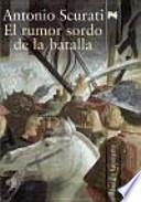 Libro de El Rumor Sordo De La Batalla