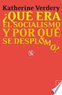 Libro de ¿qué Fue El Socialismo Y Por Qué Se Desplomó?