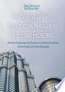 Libro de The Essential Guide To Construction Management & Building Engineering
