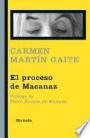 Libro de El Proceso De Macanaz