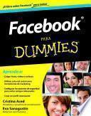 Libro de Facebook Para Dummies