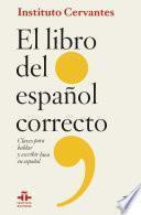 Libro de El Libro Del Español Correcto