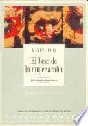 Libro de El Beso De La Mujer Araña