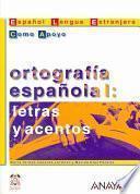 Libro de Ortografía Española I