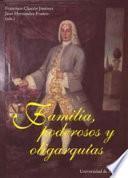Libro de Familias, Poderosos Y Oligarquías