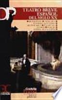 Libro de Teatro Breve Español Del Siglo Xx
