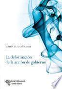 Libro de La Deformación De La Acción De Gobierno