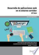 Libro de Uf1844   Desarrollo De Aplicaciones Web En El Entorno Servidor