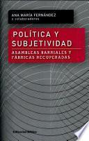 Libro de Política Y Subjetividad