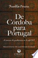 Libro de De Córdoba Para Portugal