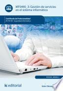 Libro de Gestión De Servicios En El Sistema Informático. Ifct0109