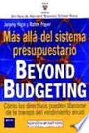 Libro de Más Allá Del Sistema Presupuestario