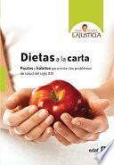 Libro de Dietas A La Carta