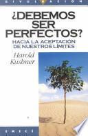 Libro de Debemos Ser Perfectos
