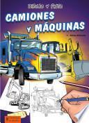 Libro de Dibujo Y Pinto Camiones Y Máquinas