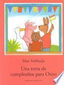 Libro de Torta Cumpleanos Osito Sp Birthday