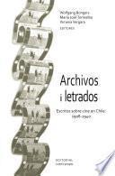 Libro de Archivos I Letrados