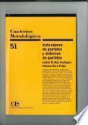 Libro de Indicadores De Partidos Y Sistemas De Partidos