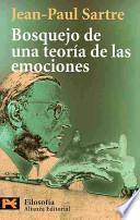 Libro de Bosquejo De Una Teoría De Las Emociones