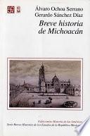Libro de Breve Historia De Michoacán