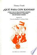 Libro de ¿qué Pasa Con Kansas?