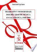 Libro de Tradición Y Modernidad.