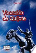 Libro de Vocación De Quijote
