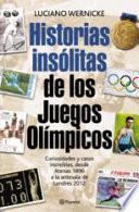 Libro de Historias Insólitas De Los Juegos Olímpicos