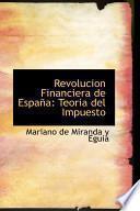 Libro de Revolucion Financiera De Espana