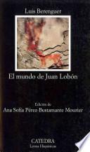 Libro de El Mundo De Juan Lobón