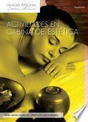 Libro de Actividades En Cabina De Estética