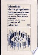 Libro de Identidad De La Psiquiatría Latinoamericana