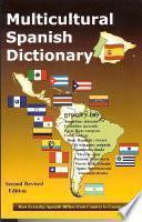 Libro de Multicultural Spanish Dictionary