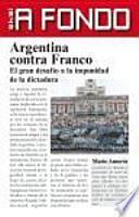 Libro de Argentina Contra Franco