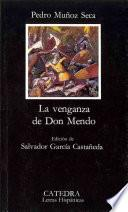 Libro de La Venganza De Don Mendo