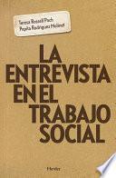 Libro de La Entrevista En El Trabajo Social