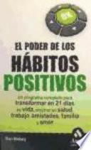 Libro de El Poder De Los Habitos Positivos